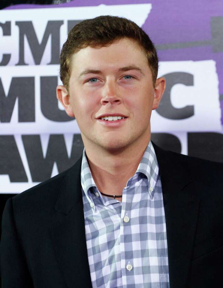 Scotty McCreery arrives at the 2013 CMT Music Awards at Bridgestone Arena on Wednesday, June 5, 2013, in Nashville, Tenn. (Photo by Wade Payne /Invision/AP) Photo: Wade Payne / Invision