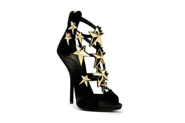 7b772b4bcaf95 3of7Giuseppe Zanotti Star-Embellished Suede Sandals, $2,495, at Saks Fifth  Avenue.Photo: Giuseppe Zanotti