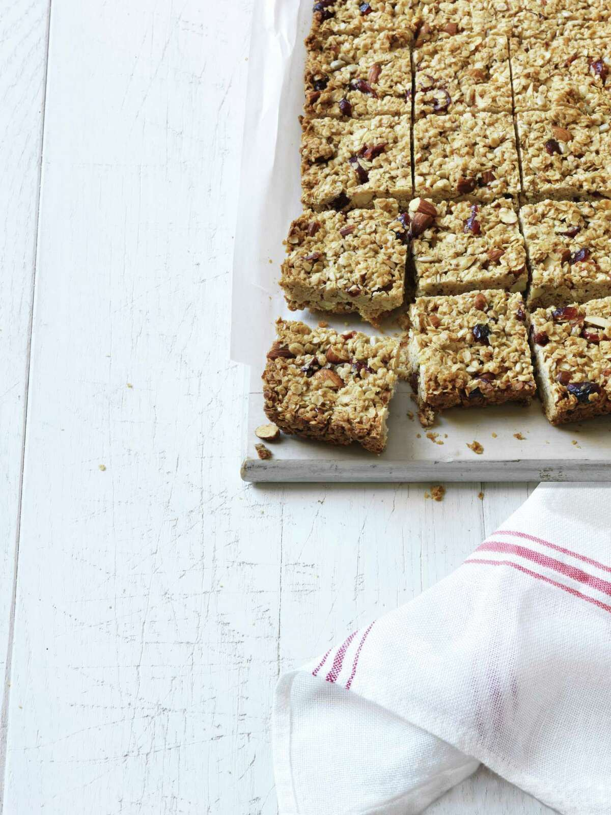 Women's Day recipe for Chewy Oat Bars.