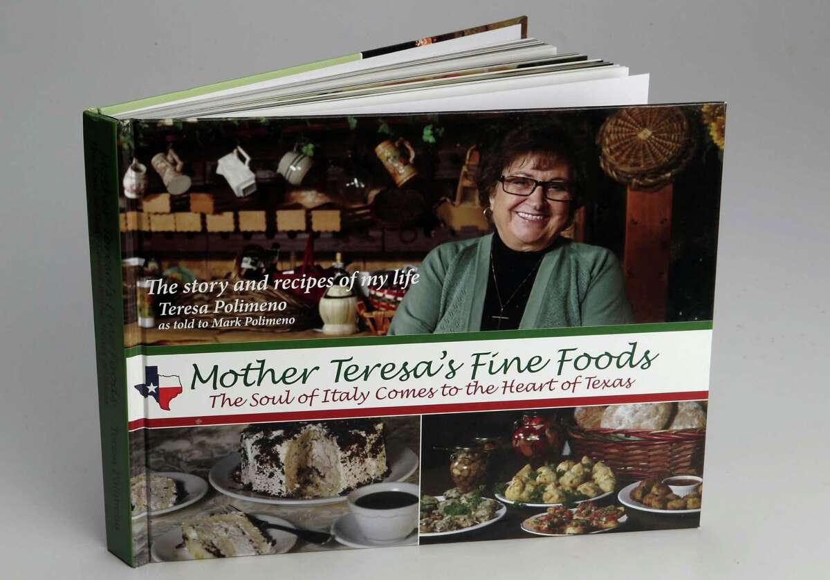 """Mother Teresa's Fine Foods,"" cookbook from the restaurant of the same name in Lake Jackson, TX. Tuesday, Sept. 24, 2013, in Houston. ( James Nielsen / Houston Chronicle )"