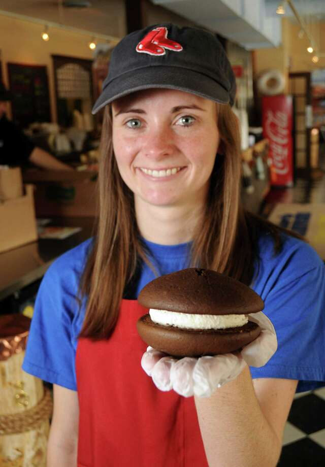 Holly Charity is among the family members whom diners will find on duty at Maine-ly Sandwiches. Photo: Dave Rossman, Freelance / © 2013 Dave Rossman