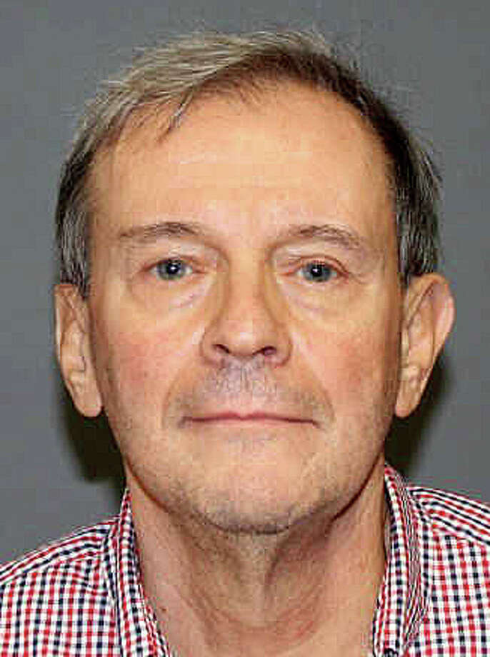 Joseph C. Callahan, 69, was charged Monday with 11 counts llegal possession of explosives and several other charges in connection with a hazmat incident last week at his 1625 Bronson Road property where police said they found a cache of potentially explosive materials as well as guns, ammunition and chemicals. Photo: Contributed Photo / Fairfield Citizen contributed