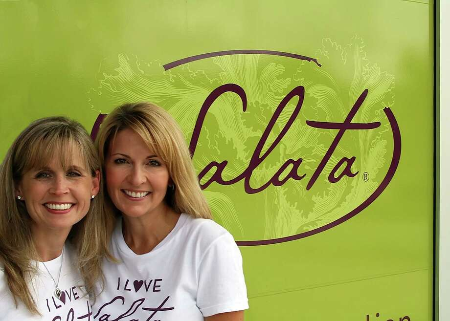 Cheri Hardin and Sheri Henn operate two Salata franchises and have plans to open two more.