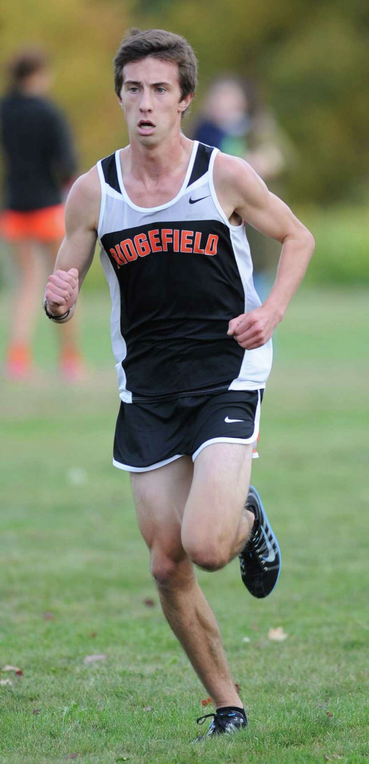 (9) Ridgefield was the class of cross country teams in the state. The Tigers took the triple crown of titles, winning the FCIAC, Class LL, and State Open.