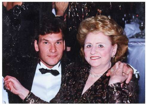 True friends: Maxine Mesinger and Houston-born actor and dancer Patrick Swayze. (Handout photo) Photo: -- / ONLINE_YES