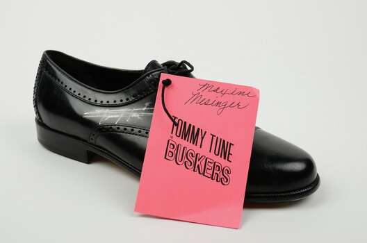 For sale: Tommy Tune's tap shoes. (Handout photo) Photo: -- / ONLINE_YES