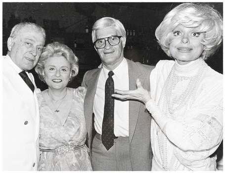 Two women larger than life: Maxine Mesinger and Carol Channing. Photo: -- / ONLINE_YES
