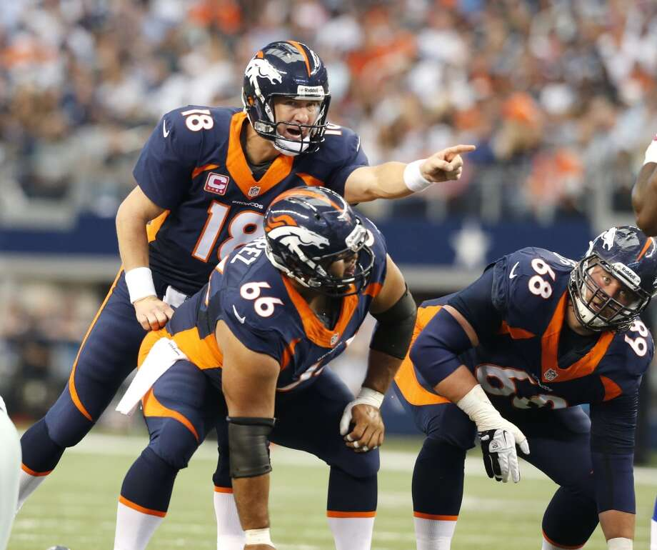 1. Broncos (5-0) Last week: 1Peyton Manning's 20 TD passes and Denver's 230 points are most in history through 5 games. Photo: Sharon Ellman, Associated Press