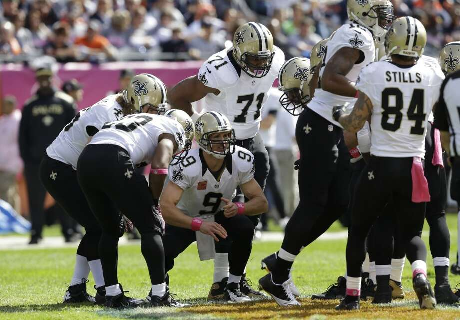 2. Saints (5-0)  Last week: 4  After allowing NFC-worst 28.3 points a game last year, Saints are surrendering 14.6 under new coordinator Rob Ryan. Photo: Nam Y. Huh, Associated Press