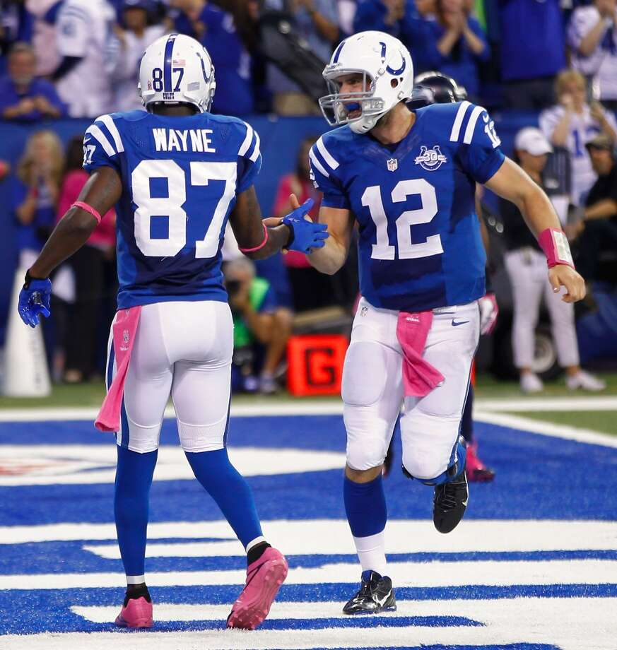 4. Colts (4-1) Last week: 8With one more winning drive in 4th quarter or OT, Andrew Luck will have 10, most by a 2nd-year QB since 1966. Photo: Michael Hickey, Getty Images
