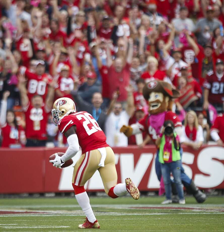 7. 49ers (3-2) Last week: 11Colin Kaepernick has thrown 6 TD passes in 5 games. Twenty quarterbacks have a rating higher than his 81.9. Photo: Brett Coomer, Houston Chronicle