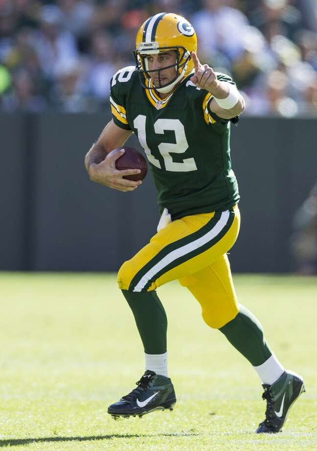 8. Packers (2-2)  Last week: 15Sunday's victory gave Green Bay 23 consecutive wins over Detroit in games played in Wisconsin. Photo: Tom Lynn, Getty Images