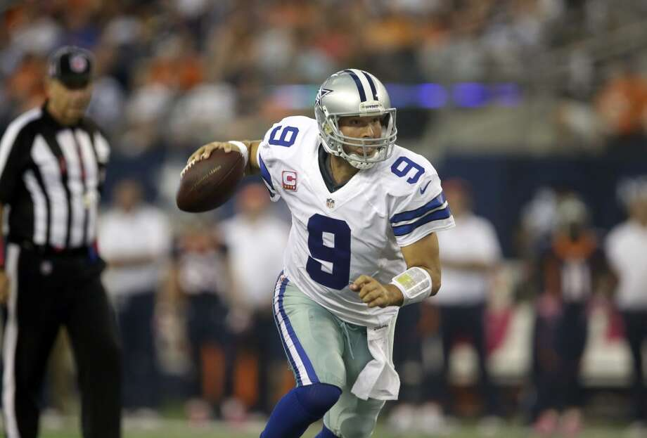 15. Cowboys (2-3) Last week: 13   When QB Tony Romo's favorite receiver, Dez Bryant, catches at least 2 TD passes in a game, Dallas is 1-7. Photo: Tony Gutierrez, Associated Press