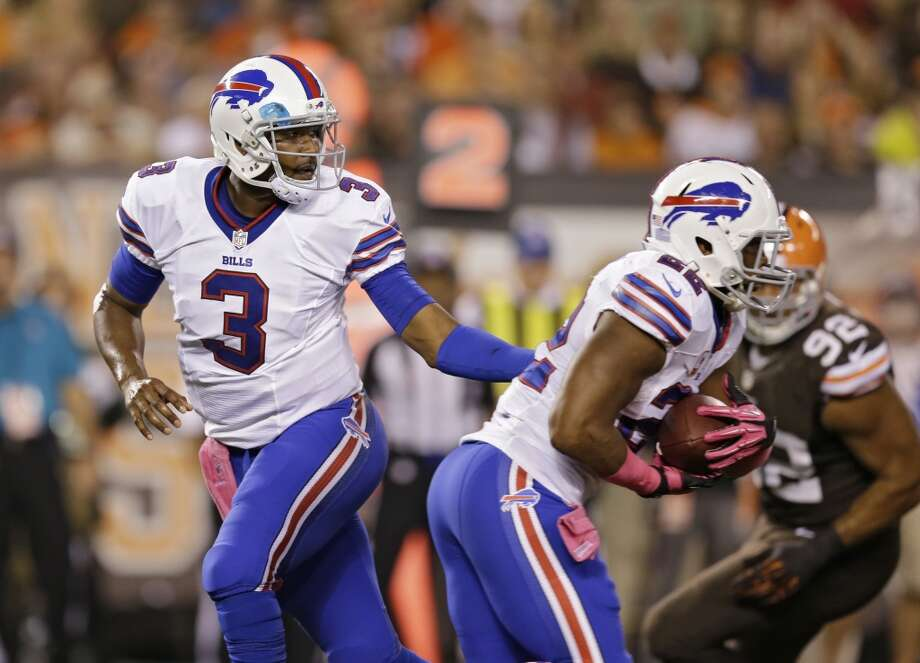 26. Bills (2-3) Last week: 20Buffalo finally getting money's worth out of DE Mario Williams, whose 7½ sacks put him on pace for 24. Photo: Tony Dejak, Associated Press
