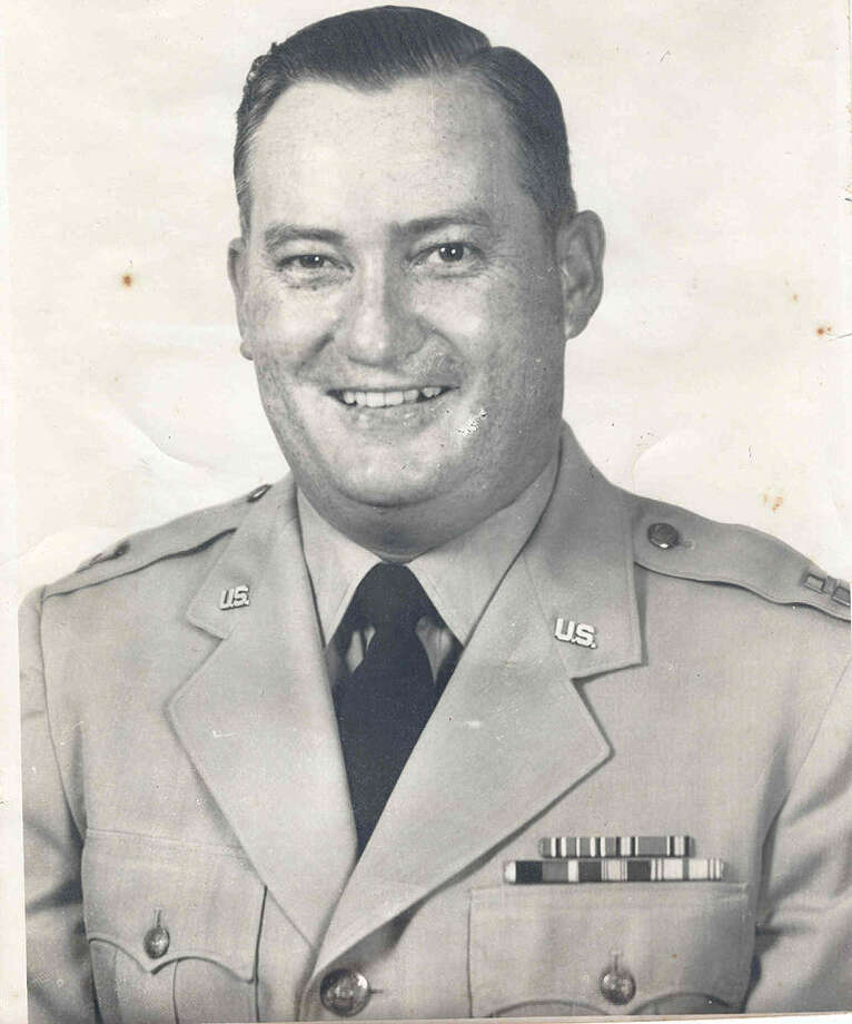 Fritz Leonard Boedeker Jr. wasn't allowed to join the military at first but later became an AF officer.