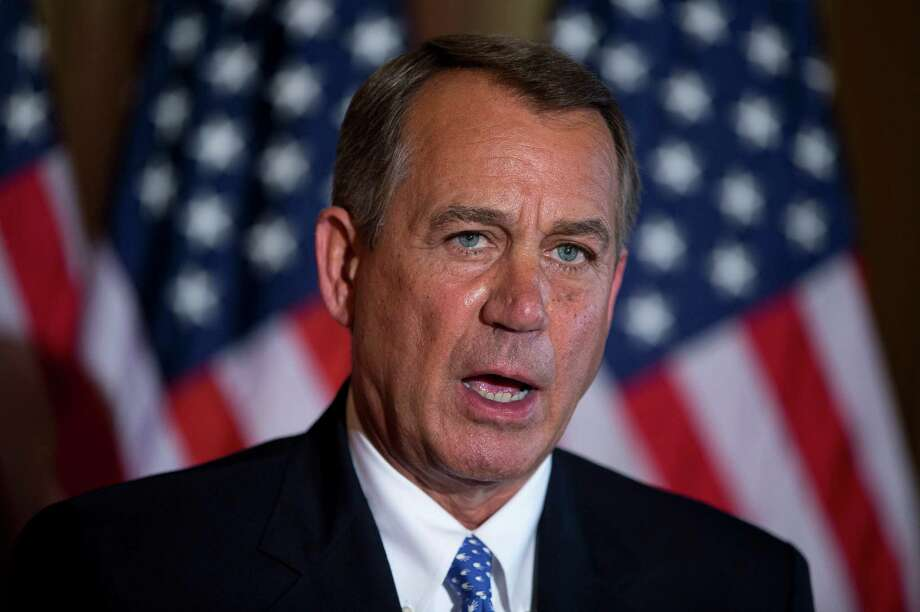 """The House has done its work,"" Speaker of the House John Boehner of Ohio. Photo: Evan Vucci, STF / AP"