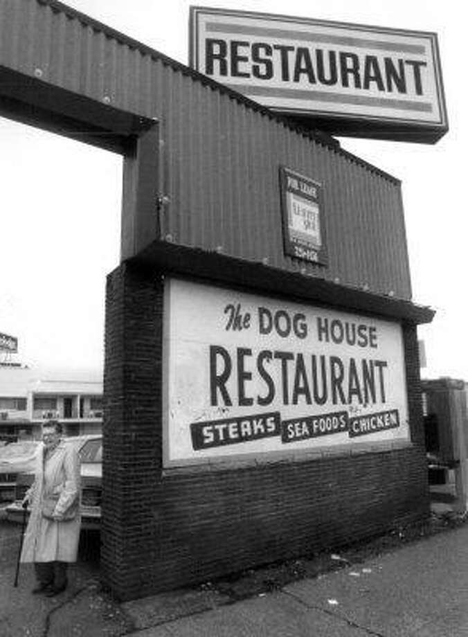"""When the 24-hour Dog House closed in 1994, it was a passing of an era. KCTS broadcast the restaurant and bar's last day on live TV, and Seattle PI columnist Jon Hahn wrote,  """"The Dog House was an epoch of Seattle history, a virtually non-stop, open 24-hours run of food, booze, music and fellowship...""""Pictured here is Laurie Gulbransen, who ran the Dog House for nearly 60 years, on Jan. 10, 1994, days before it closed. Photo: Seattle Post-Intelligencer"""