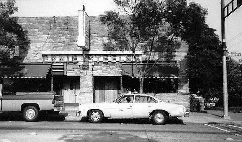 Ernie Steele's,the namesake bar of a UW football star, was known for its walls of hunting trophies and booths of hard-drinking old-timers. It lasted 46 years, until it became Ileen's Sports Bar in the early 90s. That bar also closed. Photo courtesy Louis Chirillo.