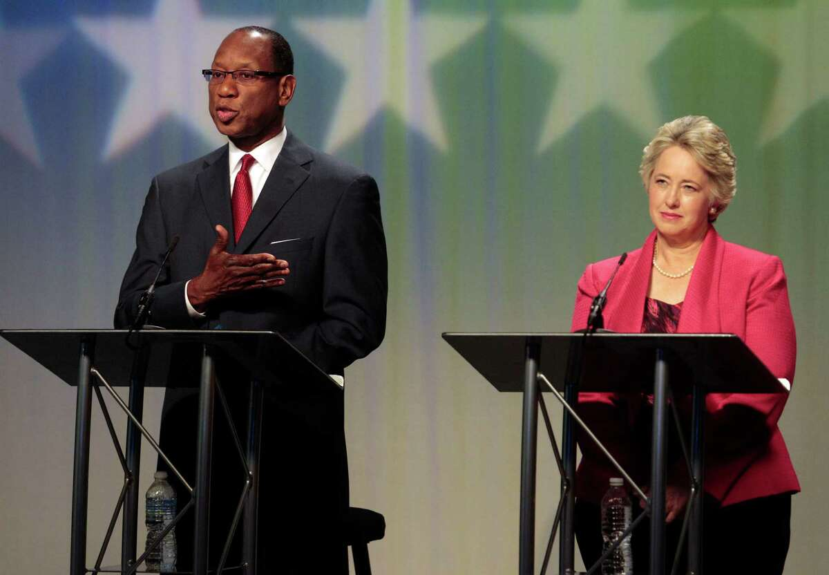 Ben Hall criticized Mayor Annise Parker for the city's