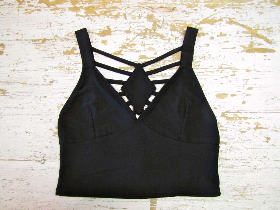 Crop top, YaYa Club, Beaumont, $36.95 Photo: Cat5