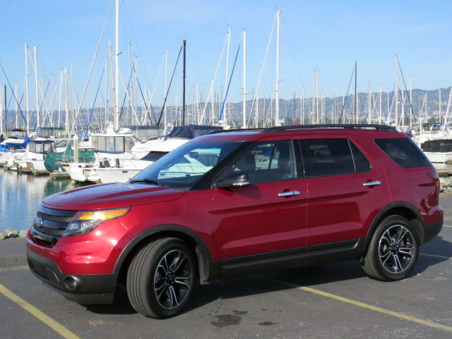 The 2013 Ford Explorer Sport adds some sporty flavor, and a bumpier ride, to the traditional SUV. (All photos by Michael Taylor)
