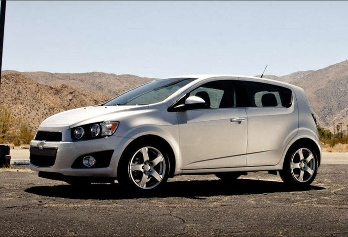 9. The 2014 Chevrolet Sonic Source: KBB.com