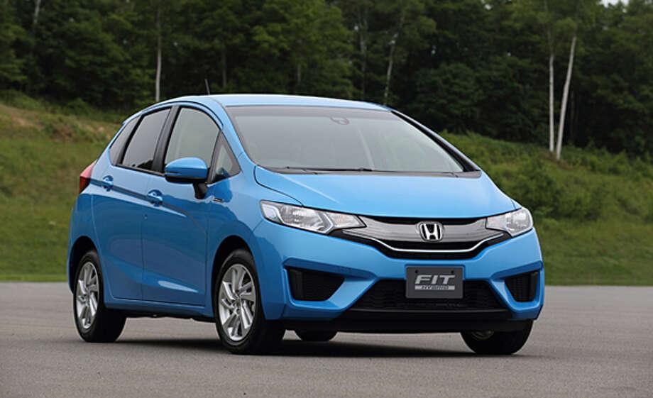 Honda Fit(pictured), Hyundai Accent, Mazda2