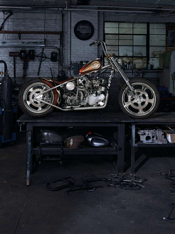 "Been watching too much ""Sons of Anarchy?"" Live out your outlaw biker fantasies on a real outlaw bike - Indian Larry's ""Wild Child,"" which the famed motorcyle builder rode from St. Louis, Missouri to Sturgis, South Dakota in 2003. It's a piece of American history for $750,000."