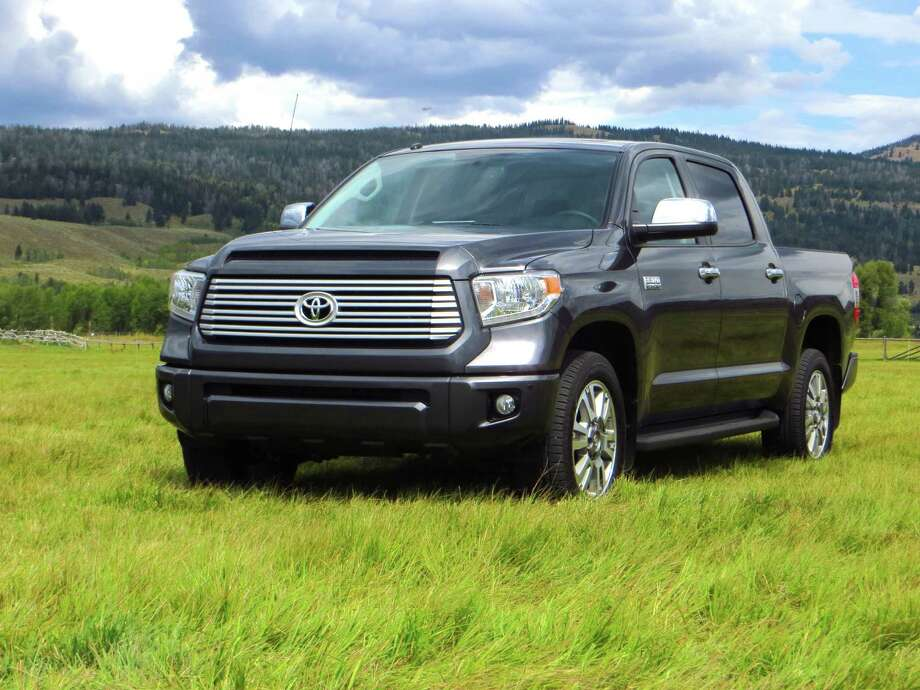 "Tundra now comes in five grades, and this Platinum is at the top of the food chain with the ""1794 Edition"" -- Toyota's ""King Ranch"" western-themed contender."