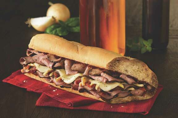 Bourbon Steak sandwich at Quiznos