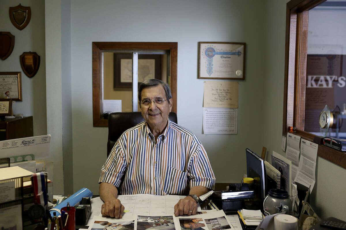 Joe Girard moved his company to 222 Burleson in 1999.