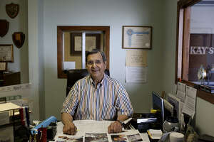 Joe Girard moved his company to 222 Burleson in 1999.