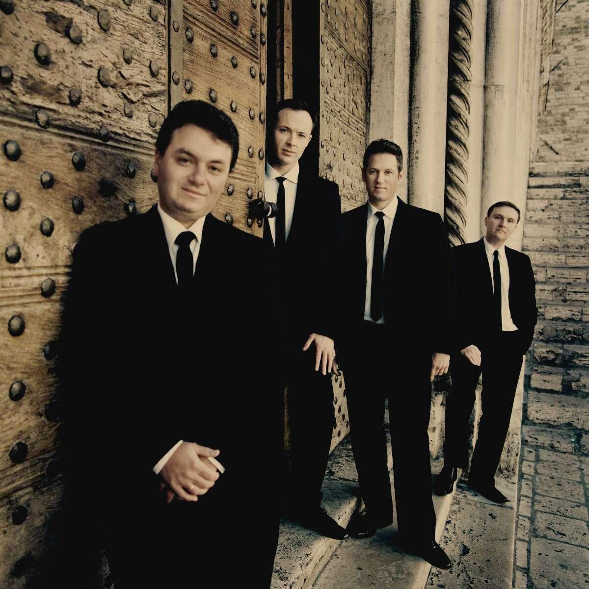The Jerusalem String Quartet will perform Dmitri Shostakovich quartets at the Rothko Chapel.