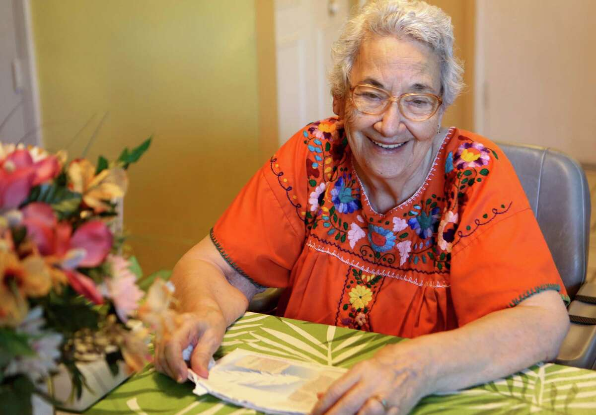Amerlia Solsona Wilburn is a 90-year-old woman who has kept the tradition of the calavera alive. The satirical poems poke fun of the living by suggesting they're dead in honor of Dia de los Muertos.