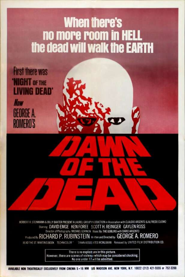 Though most only know of Zack Snyder's questionably sincere 2004 remake, Romero's original Dawn of the Dead did it first and did it better. Survivors of a zombie apocalypse enter an abandoned shopping mall to wait for a rescue that may never come, fighting off the undead and their own interpersonal conflicts in the meantime.  The film is a classic, and is enjoyable because it features intelligent, relatable characters (rather than the cardboard cutouts of the remake, no matter how entertaining they may be). The film was made for $650k and grossed $55 million worldwide.