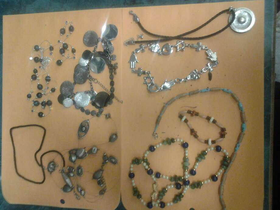 Jewelry stolen from a home on Colleen Road in Troy on Oct. 9, 2013. Photo provided by Troy police.
