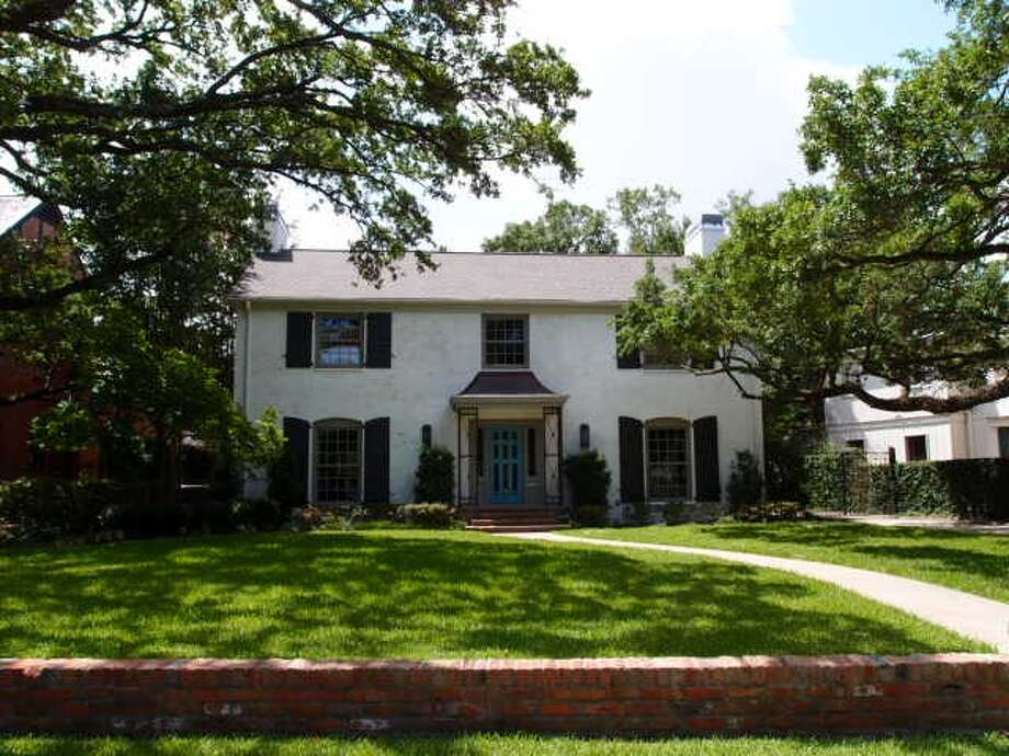 The William H. and Florence Skipwith House at 2155 Chilton Rd. Photo: Planning And Development Department