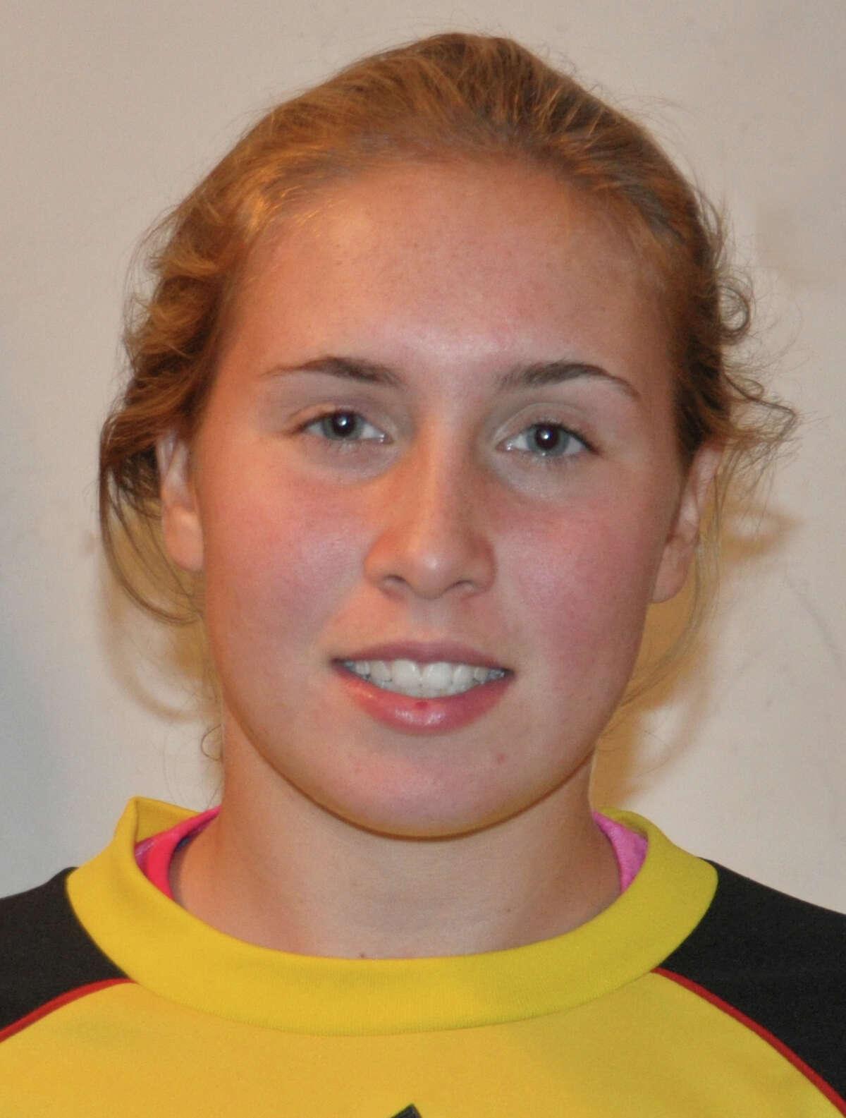 Fairfield Warde goalkeepr Katie Brennan