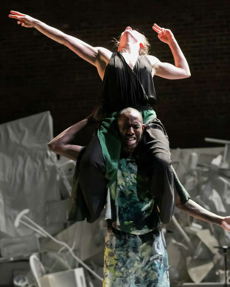 "David Dorfman Dance ""Come, and Back Again"" to be presented at Mass MoCA Oct. 10, 2013. (Adam Campos)"