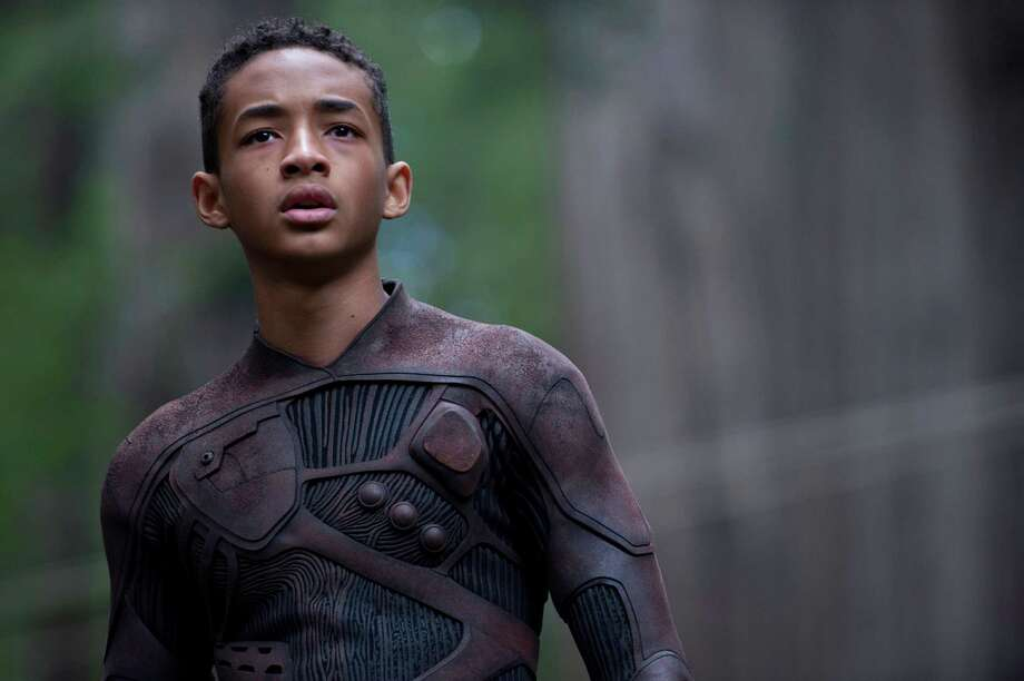 "Courtesy of Columbia Pictures. Jaden Smith stars in Columbia Pictures' ""After Earth,"" also starring Will Smith. Photo: Claudette Barius / © 2013 Columbia Pictures Industries, Inc.  All Rights Reserved."