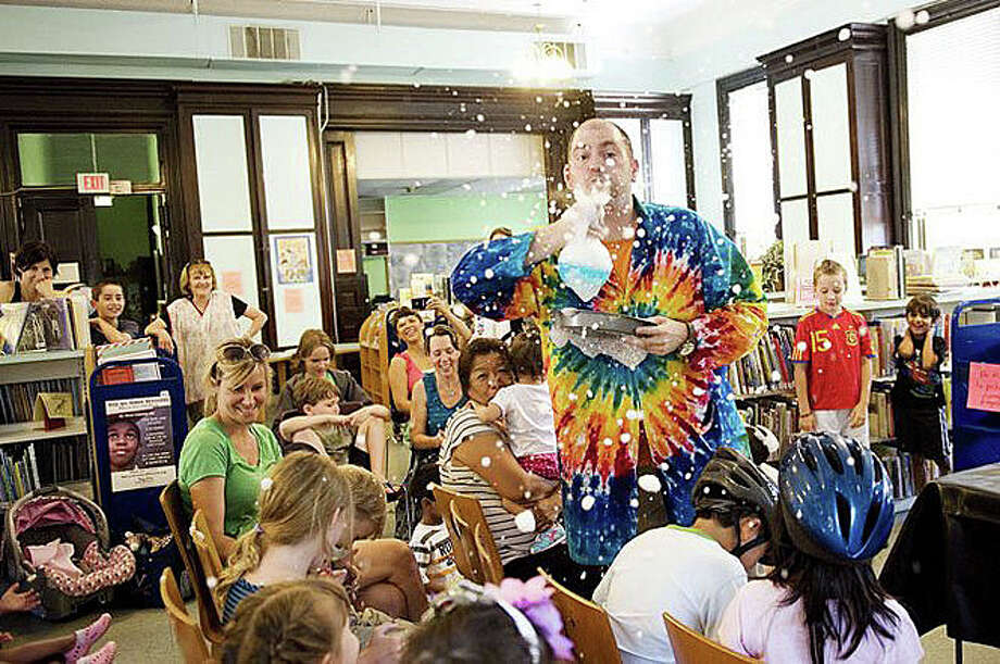 The Sciencetellers, a science/story-telling group, will perform Oct. 26 at the Westport Library. Photo: Contributed Photo / Westport News contributed