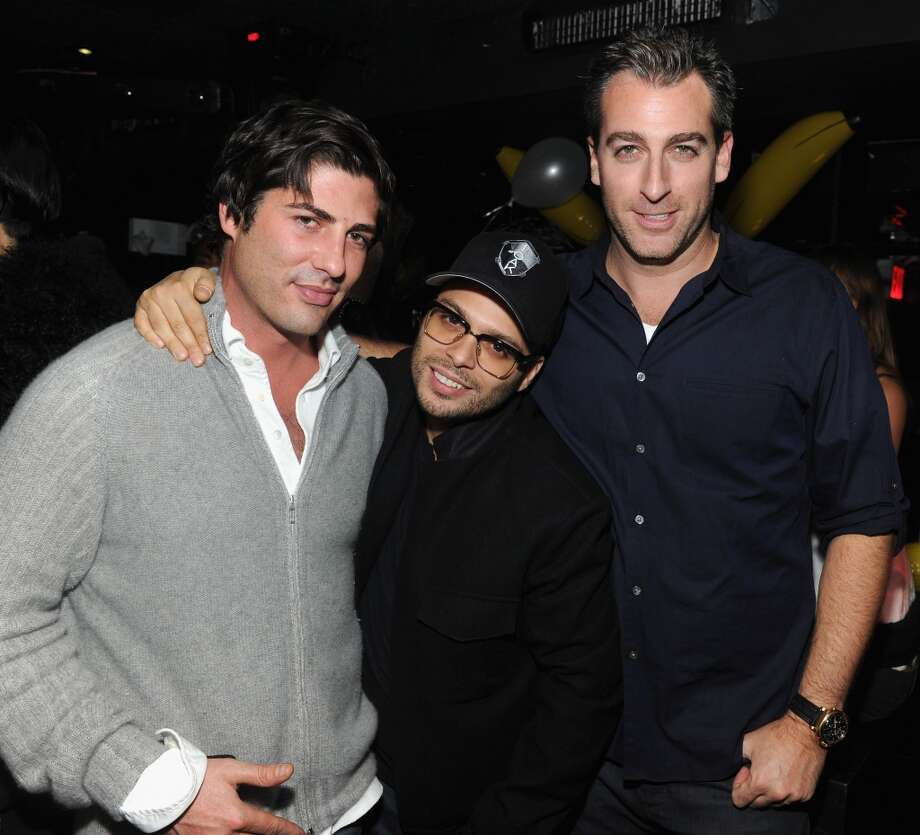 "(L-R) Brandon Davis, Richie Akiva, and Mark Birnbaum attend Miley Cyrus' Official Album Release Party for ""Bangerz"" at The General on October 8, 2013 in New York City.  (Photo by Jamie McCarthy/Getty Images for The General) Photo: Jamie McCarthy, Getty Images For The General"