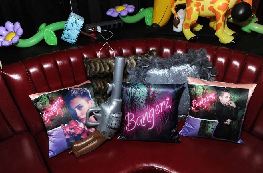 "A general view of atmosphere at Miley Cyrus' Official Album Release Party for ""Bangerz"" at The General on October 8, 2013 in New York City.  (Photo by Jamie McCarthy/Getty Images for The General) Photo: Jamie McCarthy, Getty Images For The General"