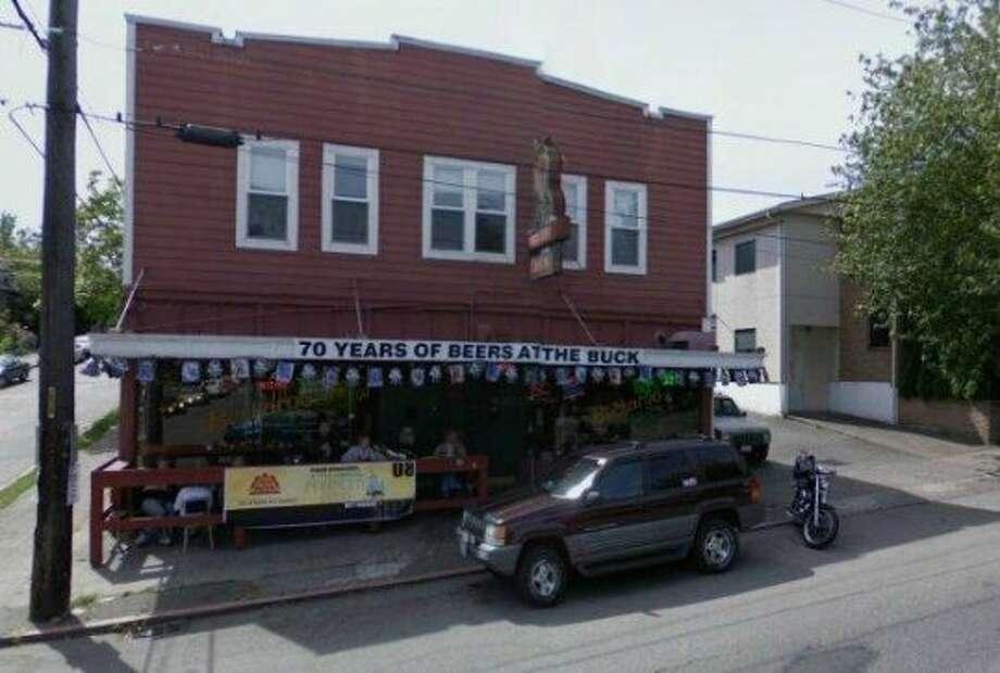 Buckaroo: As a verb, not a noun. And not the shuttered bar, pictured above. Photo: Google Street View / Google Street View