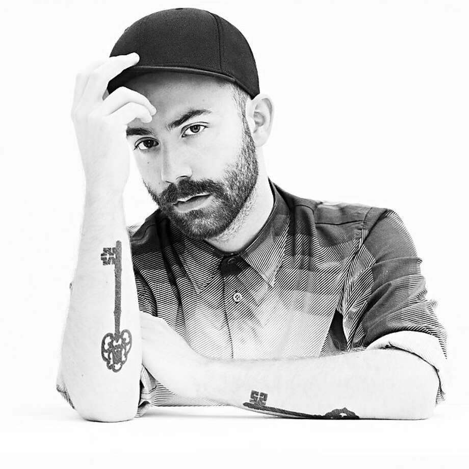 Woodkid (Yoann Lemoine, French music-video director now making his own music) Photo: Interscope