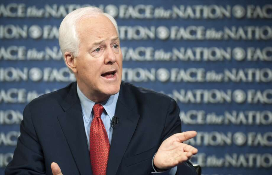 """Ted and I share the concern about what Obamacare's doing to our economy. … There should be a negotiation and this government would still be up and running."" - Sen. John Cornyn, R-Texas told CBS.Source: CBS Face the Nation Photo: CHRIS USHER, ASSOCIATED PRESS"