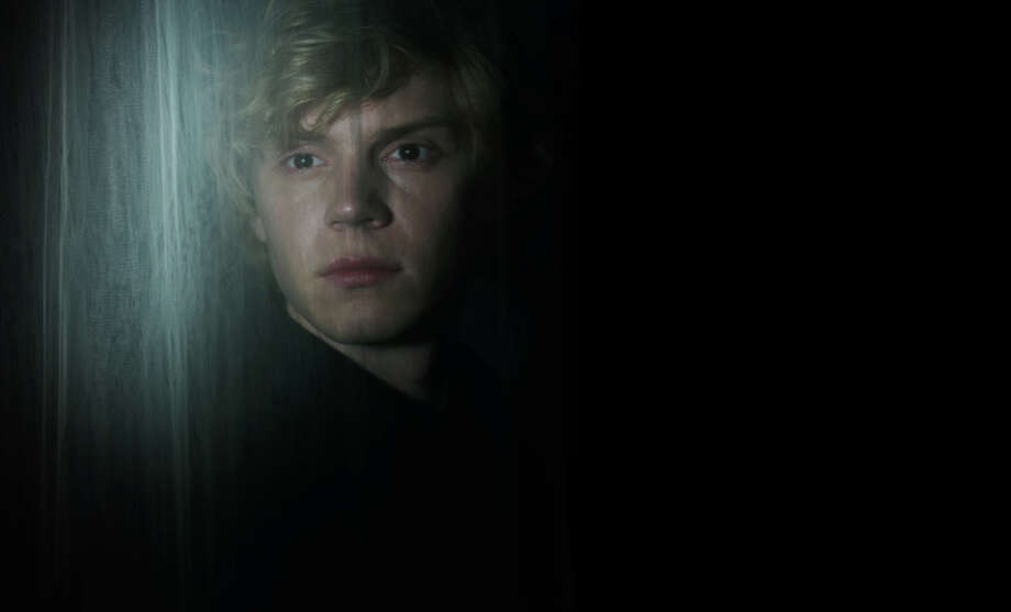 AMERICAN HORROR STORY: COVEN -- Pictured: Evan Peters as Kyle -- CR: Frank Ockenfels/FX