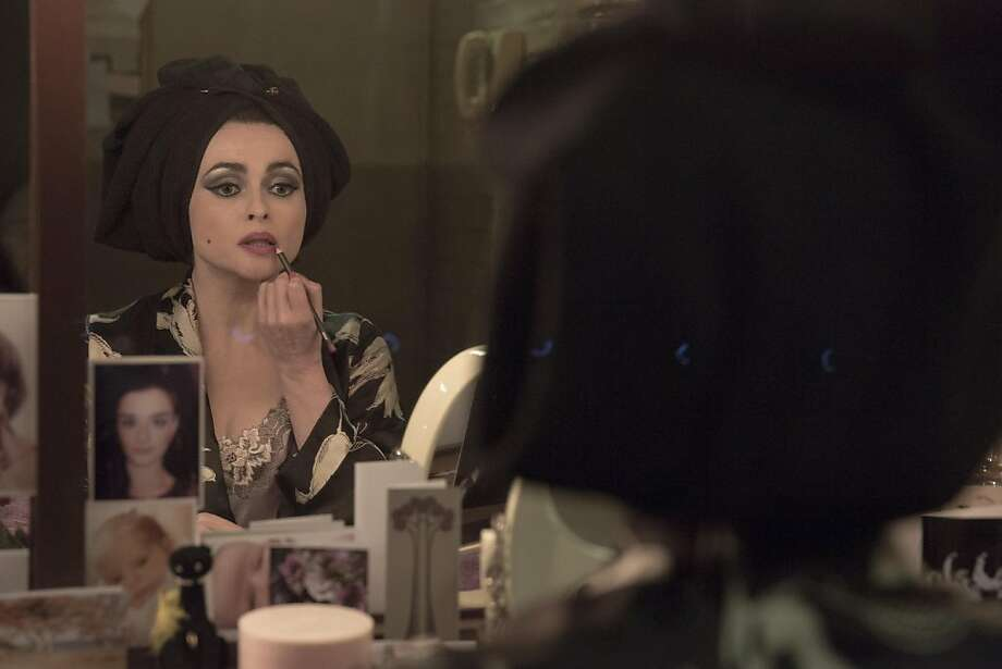 "Picture shows: Elizabeth Taylor (HELENA BONHAM CARTER) in ""Burton and Taylor."" Photo: Leah Gallo, © BBC 2013"