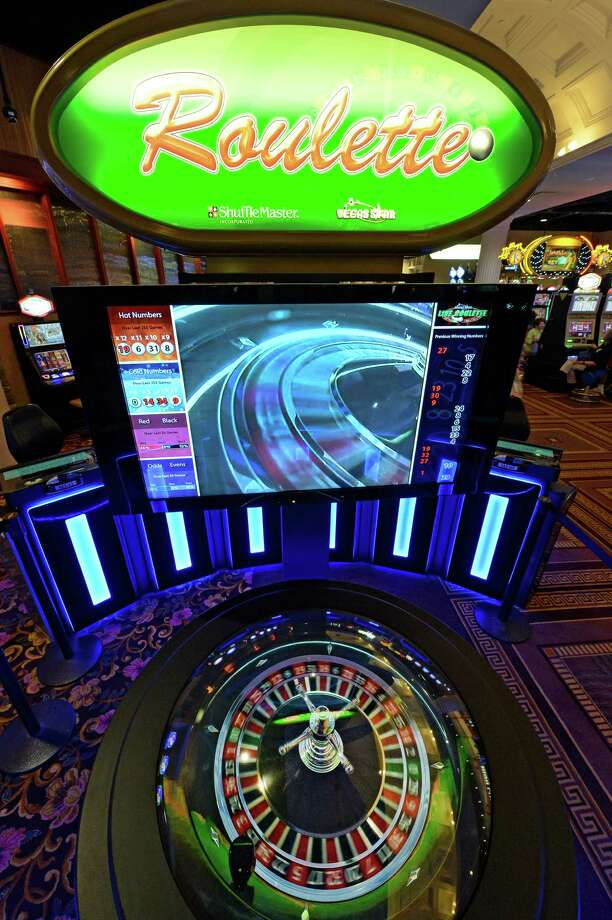 Electronic Roulette at the Saratoga Casino and Raceway Thursday afternoon, Sept. 12, 2013, in Saratoga Springs, N.Y.   (Skip Dickstein/Times Union) Photo: SKIP DICKSTEIN