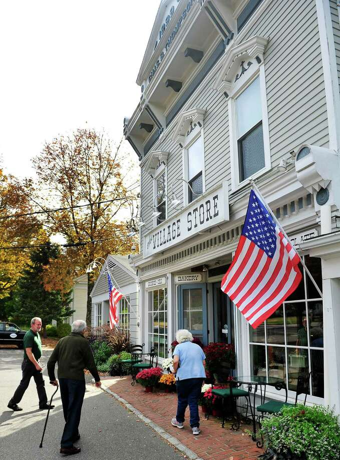 The Bridgewater Village Store in Bridgewater, Conn. Photo: Michael Duffy / The News-Times